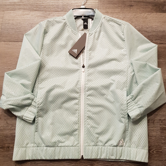 adidas Jackets & Blazers - Adidas Mesh Bomber Jacket
